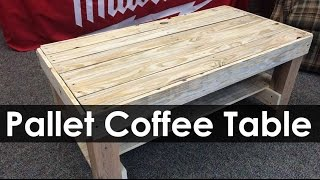 Pallet Coffee Table Project Ideas