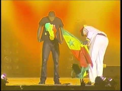 Akon in concert in Dakar for the new year's