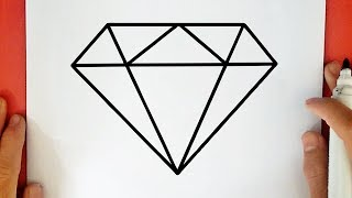 How to Draw a Diamond (easy)