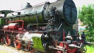 Pociąg retro z parowozem Ol12-7  Chabówka - Mszana Dolna  (Steam locomotive Ol12-7)