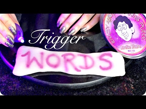 ASMR Extremely Close Breathy Whispers, Repetitive Trigger Words & Writing with Light ~ Ear to Ear