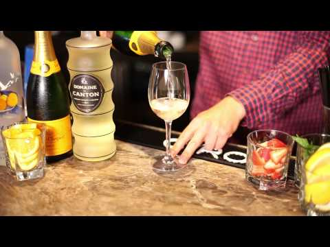 Punch Recipe For A Champagne Fountain : Punch & Drinks For Parties
