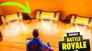TOP 5 PLACES WITH SECRET COFRES!! FORTNITE BATTLE ROYALE (Ps4 and Pc)