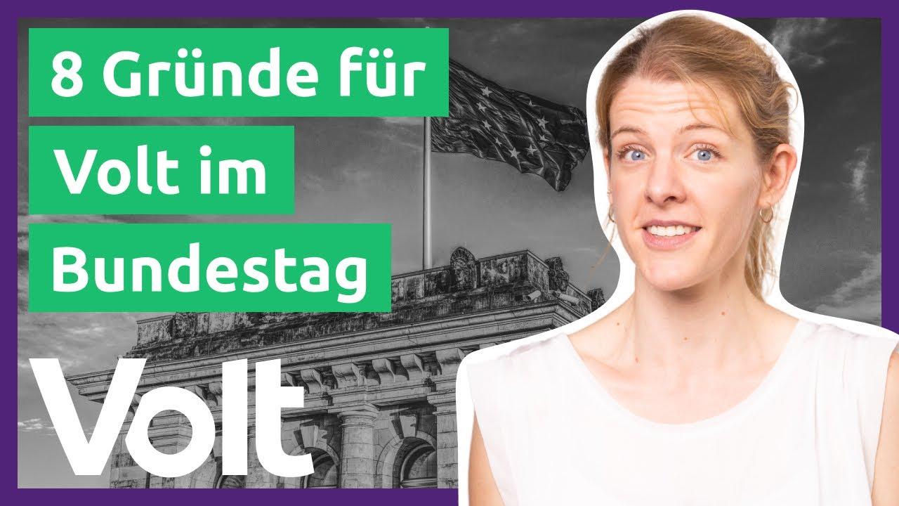 YouTube: 8 Gründe, warum es eine Europäische Partei im Bundestag braucht! | Bundestagswahl 2021
