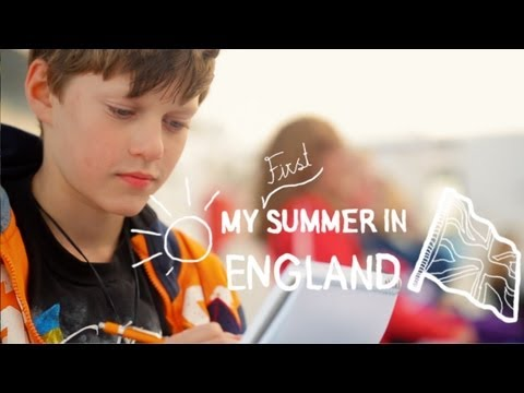 My first summer in England with EF (ages 10-14)