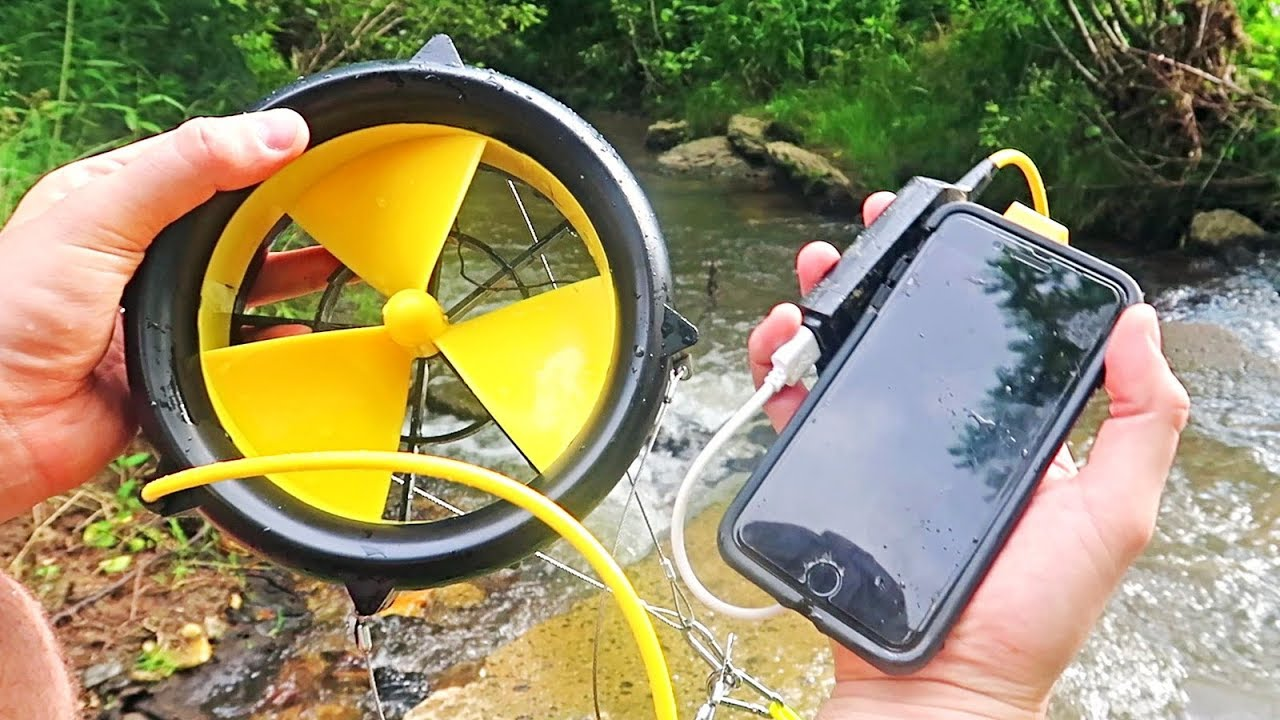 water-phone-charger
