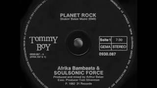 Afrika Bambaataa & Soulsonic Force - Planet Rock (Extended) (1982)