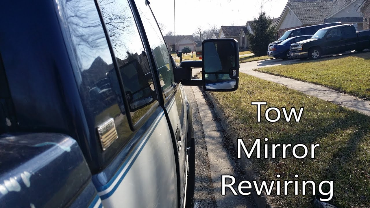 hight resolution of how to wire 2015 chevy gmc mirrors with dual function front leds