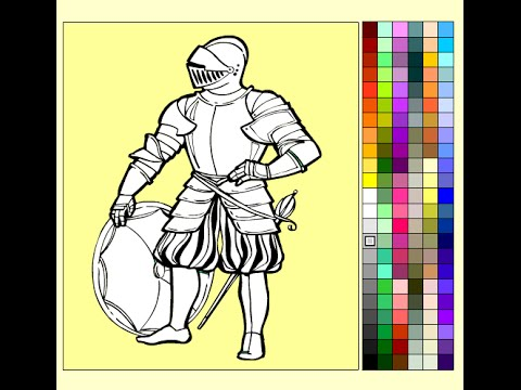 Knight Coloring Pages For Kids  Knight Coloring Pages  YouTube