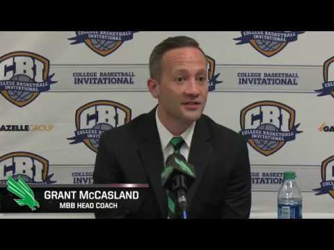 North Texas MBB: Grant McCasland CBI Final Game 2 vs San Francisco Post Game Comments