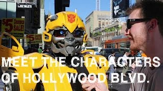 Meet the | Characters of Hollywood Blvd | Jimmy Kimmel