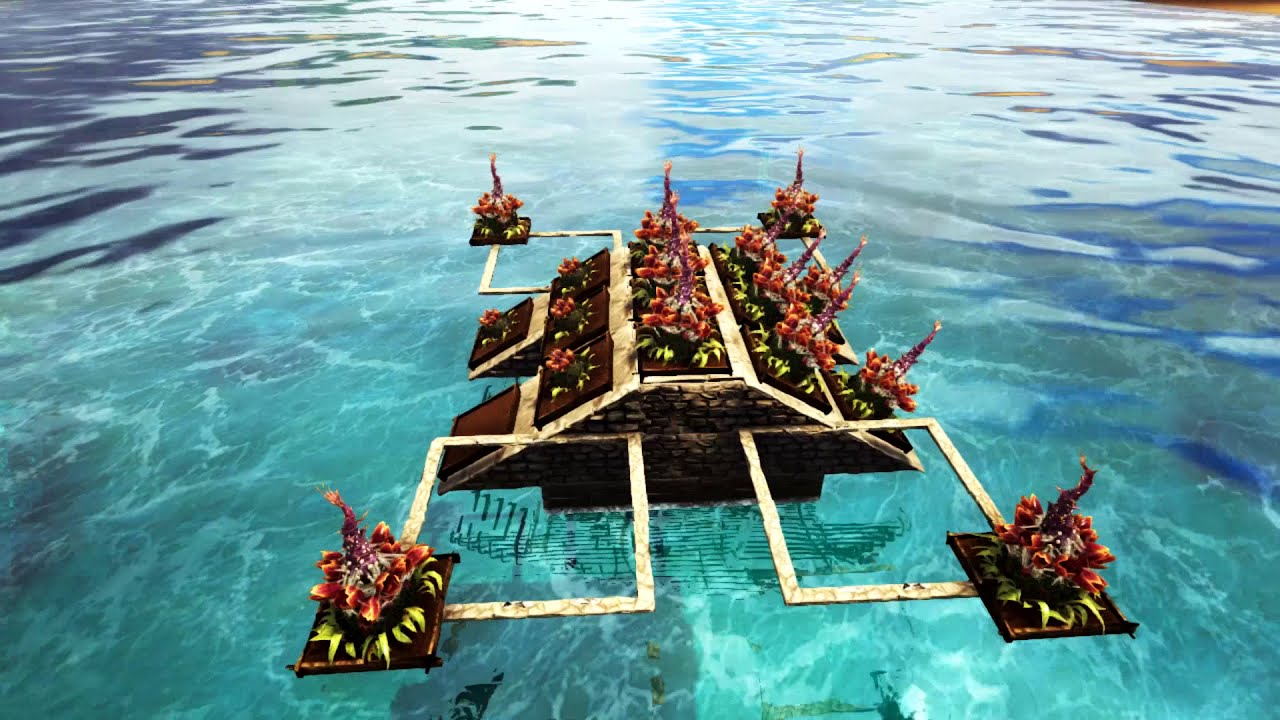 Ark - How To Upgrade Any Raft Base (Start To End)  Neroku 10:18 HD