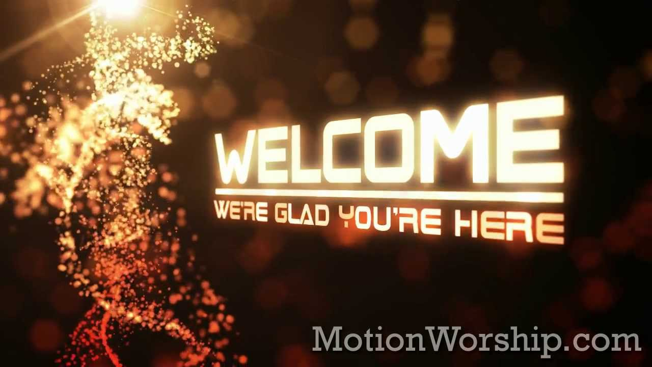 Animated Thanksgiving Wallpaper Particle Ribbons Welcome Hd Loop By Motion Worship Youtube