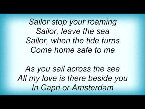 17889 Petula Clark - Sailor Lyrics