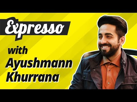 Expresso EP 2: Ayushmann Khurrana , a small-town boy journeys to big-town Bollywood
