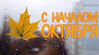 Красивое Поздравление С Началом Октября. Музыкальная Видео открытка для Друзей. Музыка для души