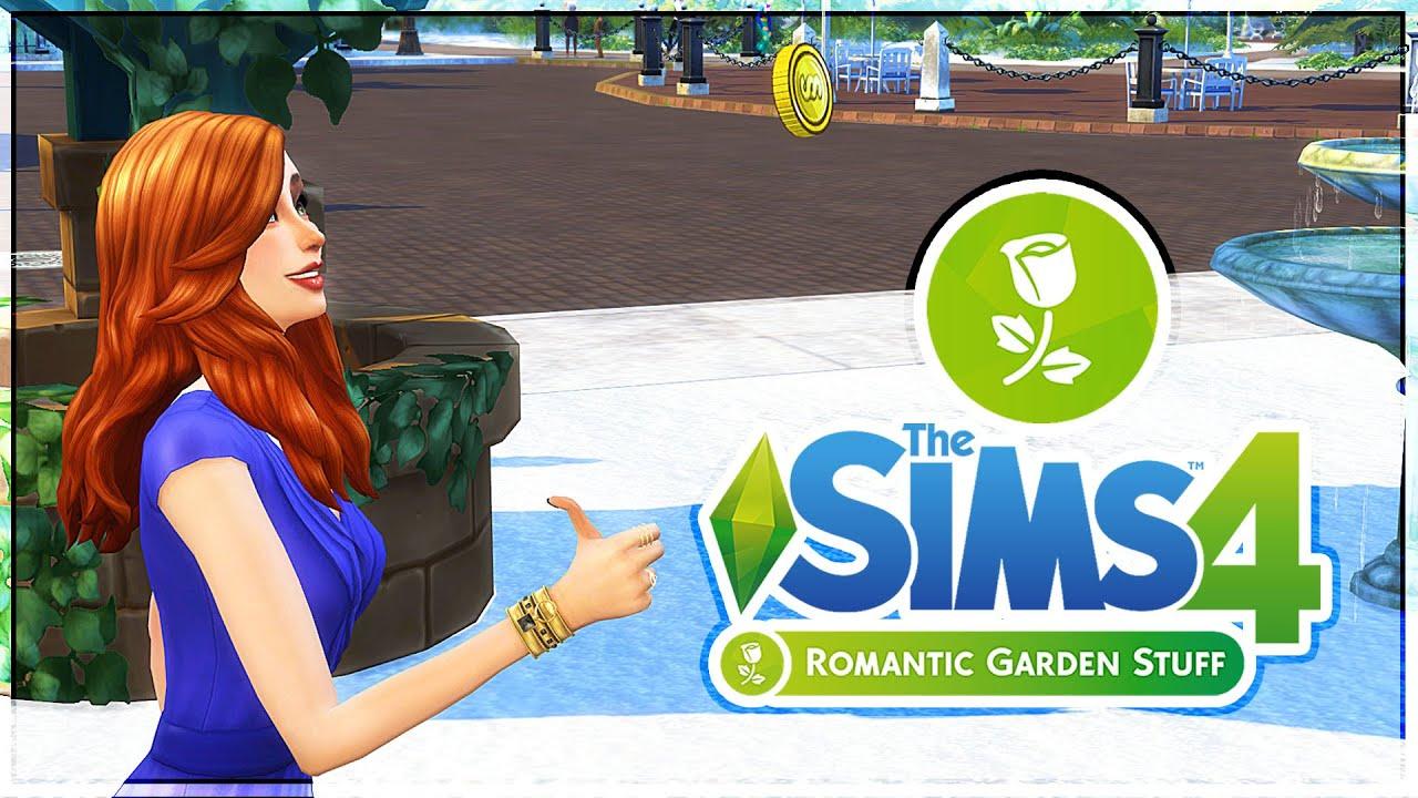 The Sims 4: Romantic Garden Stuff Pack
