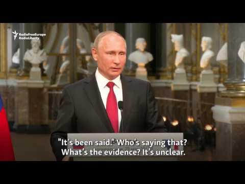 Macron Accuses Russian State Media Of 'Propaganda'