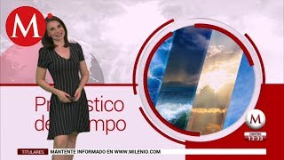 El clima del 3 de julio, con Arlett Fernández