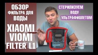 Xiaomi Viomi Filter L1. Фильтр для воды Xiaomi с ультрафиолетовой стерилизацией. Обзор от Wellfix