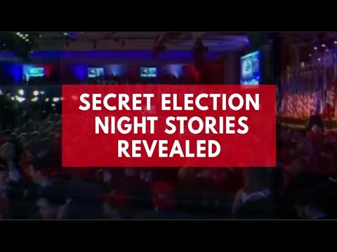 Election night secrets from members of both major party campaigns and their associates
