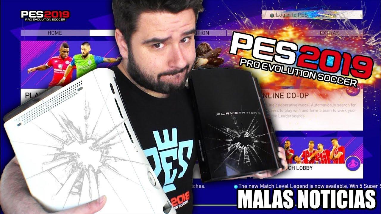 Pes 2019 No Saldra En Xbox 360 Ni Ps3 Konami Pone Fin A Una Era