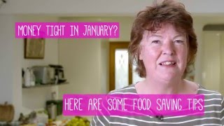 4 top tips to stop food waste and save money #SurviveJanuary