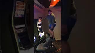Dpdt  man back flips off chair fail