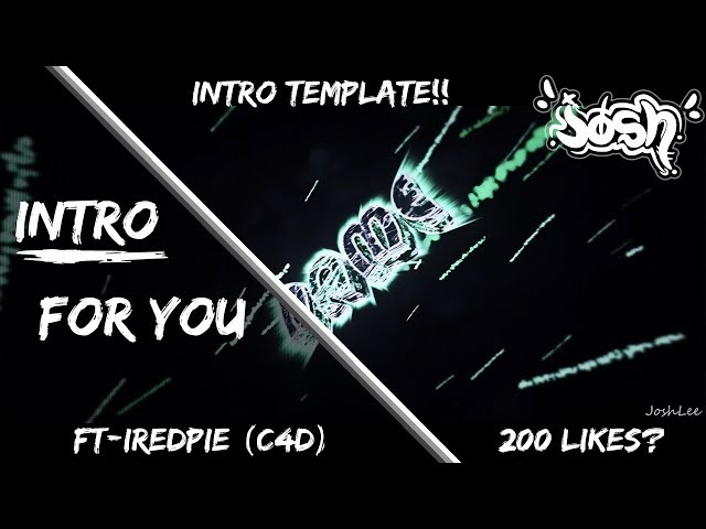 FREE INTRO TEMPLATE~Thank you for 100 SUBS!~READ DESC
