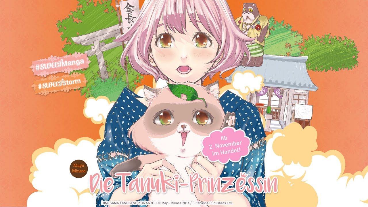 Die Tanuki-Prinzessin (Manga-Trailer)