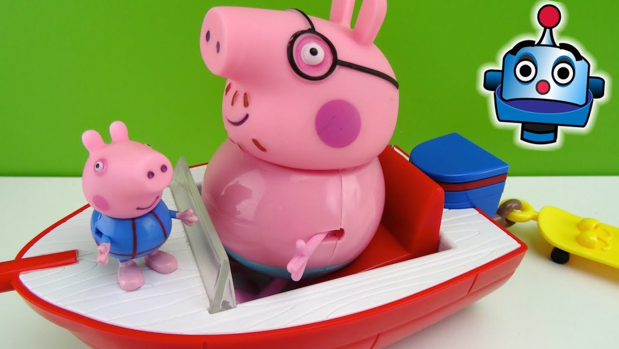 Worksheet. Peppa Pig Holiday Splash Speedboat  YouTube