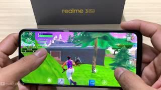 Realme 3 Pro Test game Fortnite Mobile