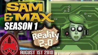 Sam & Max Season One Episode 5: Reality 2.0   MugiwaraJM Streams