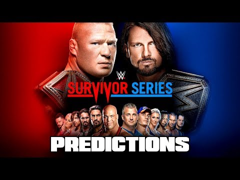 10 Things That WILL HAPPEN At WWE Survivor Series 2017 (Goin