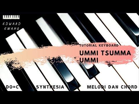 Ummi Tsuma Ummi Tutorial NOT ANGKA dan AKOR do=C (Pelan dan Mudah)