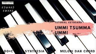 Tutorial Keyboard UMMI TSUMMA UMMI (Melodi dan Akor Do=C)