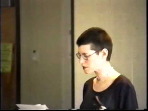 Lisa Robertson and Catriona Strang: poetry reading at Capilano College, March 1995