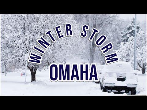 Omaha Nebraska Winter Storm