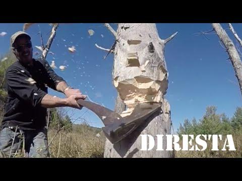 ✔ DiResta Chops Down a Tree