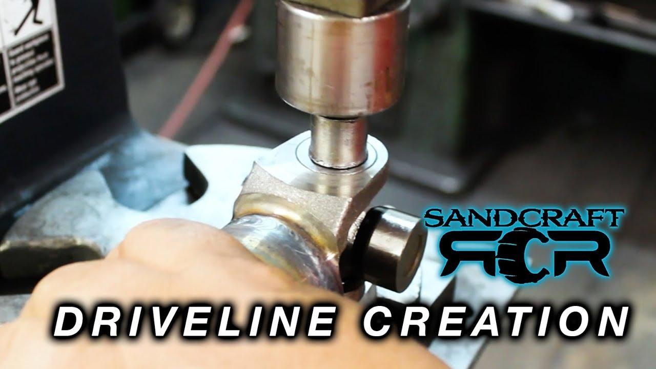 SANDCRAFT MOTORSPORTS Gen-3 Polaris RZR 1000 Racer Driveline Collar