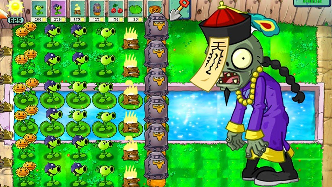 Level 1-1 | <b>Plants</b> <b>vs</b>. <b>Zombies</b> Wiki | FANDOM powered by Wikia