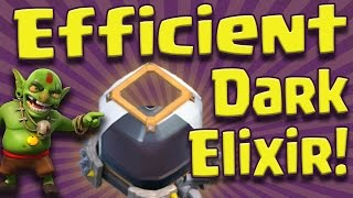 Clash of Clans: Most Efficient Dark Elixir Farming Strategy - Lets Max TH8! #6