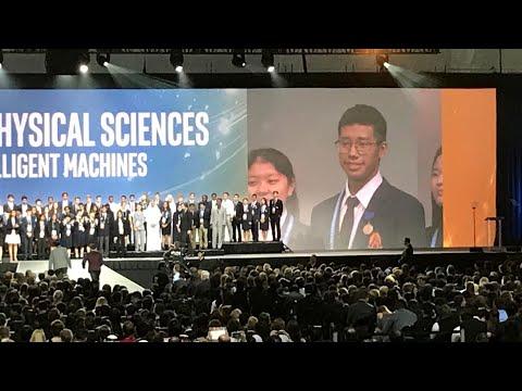 Grand Awards Ceremony 2 #intelisef #intelisef2018