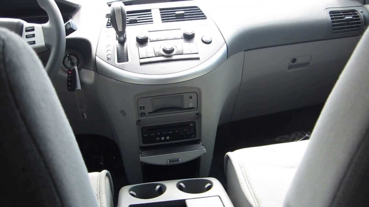 2007 Nissan Quest Grey Stock 12519d Interior Youtube