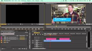 how to use the new live text templates in adobe premiere cc 2014