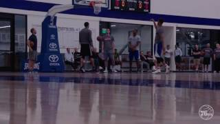 Markelle fultz talks about the nba draft with the 76ers