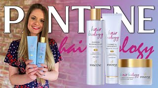 Pantene Hair Biology - Cleanse & Reconstruct Rose Water Shampoo & Conditioner Review
