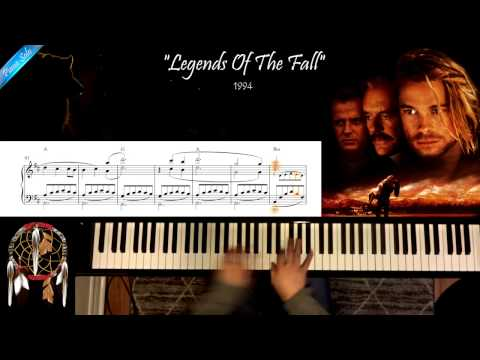 Legends Of The Fall - Piano Solo Cover