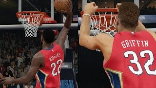NBA 2K15 MyTeam - All Dunkers Team