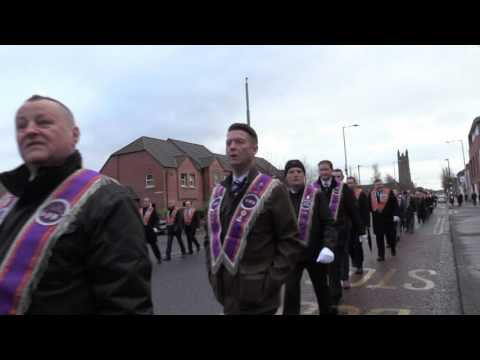 UDR Memorial Parade East Belfast